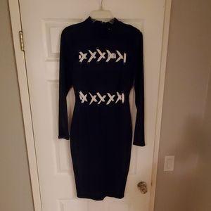 Navy Blue Guess Dress